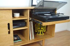 Hey, I found this really awesome Etsy listing at https://www.etsy.com/listing/190914628/kasse-media-credenza-with-record-player