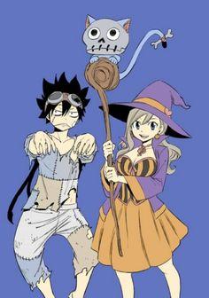 Eden's zero Halloween Fairy Tail Love, Fairy Tail Amour, Fairy Tail Nalu, Animé Halloween, Halloween Tumblr, Rave Master, Character Costumes, Comic Character, Fairytail