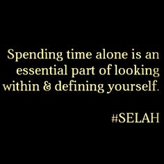 MIDWEEK MEDZ  Find the joy in peace and solitude, and also in loud music & laughter.   Why are you filling your life up with people and activities and stuff?   Why not try filling your MIND up with thoughts that bring you pleasure and joy!   #LetGo  #SELAH