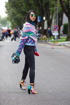 Street Style Milan Fashion Week | Galería de fotos 17 de 31 | GLAMOUR