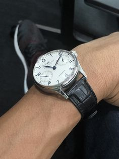 Friday casual day - IWC Portuguese 7 Days Automatic surely fill the bill