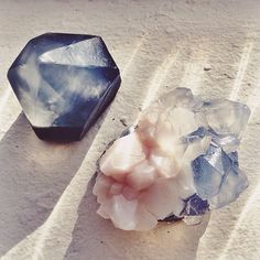 Super cool for gifts or a guest bath...amazing handmade crystal soaps by ManiaMania