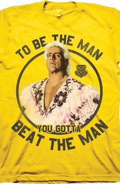 Beat The Man Ric Flair Shirt: 80s Wrestling Shirts