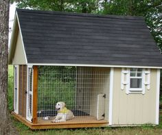 Now that's a dog house : )