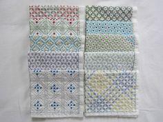 【rengewa様専用】刺し子の布巾10枚