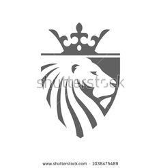 Logo Design Inspiration, Icon Design, Lion Icon, Photo Clipart, Lion Tattoo Design, Mascot Design, Geometric Logo, Best Logo Design, Animal Logo