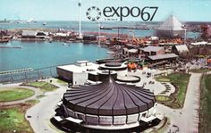 It was like a big World Showcase but with architecture similar to Future World. Was Expo 67 a m. Expo 67 Montreal, Montreal Ville, Walt Disney Imagineering, Swinging London, World's Fair, Urban, Landscape Photos, Architecture, Images