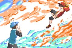 practice make perfect and usually practicing with the opposite one will bring the best result! boboiboy belongs to (c) animonsta water and fire Boboiboy Anime, Anime Art, Dear Evan Hansen Fanart, Boboiboy Galaxy, Be More Chill, Asuna, Cartoon Movies, Art Challenge, I Wallpaper
