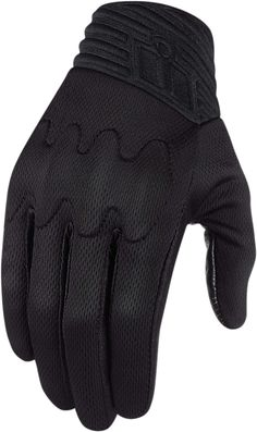 Anthem Stealth Glove - Stealth | Products | Ride Icon