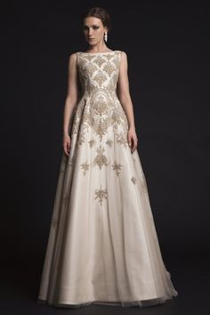 Spring 2015 Krikor Jabotian Wedding Dresses