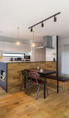 Sweet Home Design, Kitchen Dining, Facade, My House, Bedroom Decor, House Design, Lights, Interior Design, Table