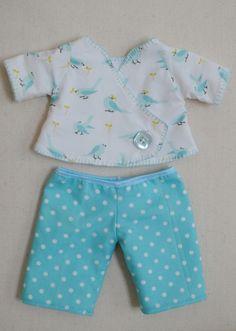 Baby Kimono Onesie Pattern