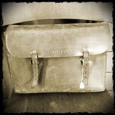 Yesteryear's school bag!