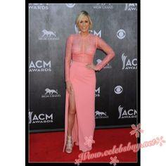 Sarah Davidson pink lace prom dress Acm Awards 2014 $159.99 each at Celebsbuy.net