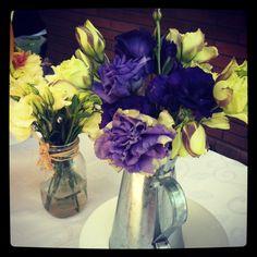 Blancas y lilas