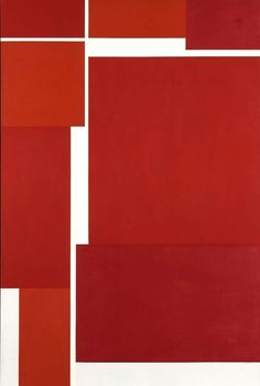 Ilya Bolotowsky (July 1, 1907 - 1981): Architectural Variation, 1971 - acrylic on canvas (Smithsonian)