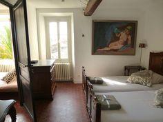 Haut de Cagnes house rental - Twin bedroom