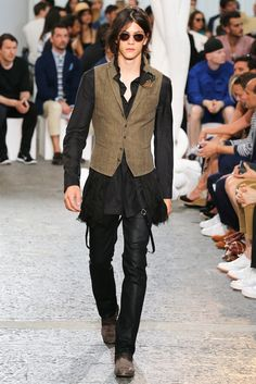 John Varvatos | Spring 2015 Menswear Collection | Style.com