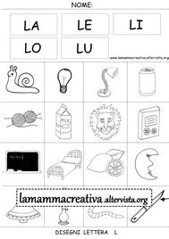 Drawings with syllables for school School Equipment, Pixel Art, Activities For Kids, Lettering, Education, Words, L2, Flashcard, Mamma