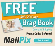MailPix ~ FREE 20 page Photo Book!