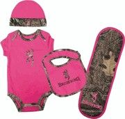Browning infant/toddler set. Found on eBay and Amazon