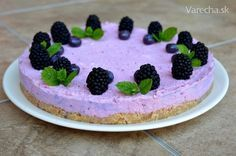 Černicový cheesecake - Recept