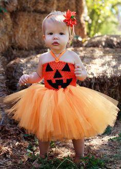Pumpkin Tutu Dress