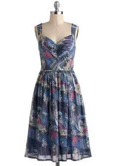 """Pending Modcloth The Perfect Periwinkle Dress, size 12. NWT. It's a little too big on me in the waist. 19.5 """" bust, 17.5 """" waist."""