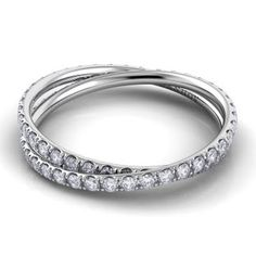 Women's Wedding Rings with Diamonds | Brides.com