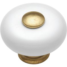 Hickory Hardware Tranquility 1-1/4 in. Vintage Brown Crackle Cabinet Knob - P222-VC - The Home Depot