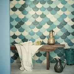Super gave badkamertegels!  inrichting-huis. com/badkamer/marokkaanse-badkamer-tegels/