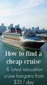 Finding Cheap Cruises 2018 Repositioning Cruises Cheap