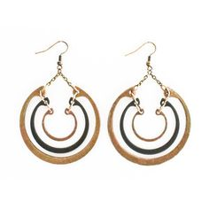 Tiered Ring Earrings, $29, now featured on Fab.