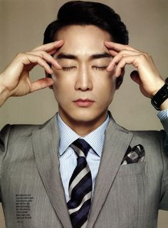 Song Seung Heon's Photoshoot for the Inside Pages of GQ Korea | A Koala's Playground