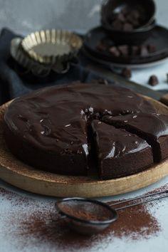 Saftiger Schokoladenkuchen mit Rote Bete