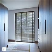 A window blind is a type of window covering. There are many different kinds of window blinds, using different systems and materials. A typical window blind Window Coverings, Window Treatments, Interior Styling, Interior Design, Venetian, Ramen, Tall Cabinet Storage, Blinds, Indoor
