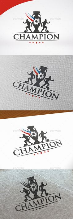 Football Cup Logo PSD Template #euro2016  • Only available here ➝ http://graphicriver.net/item/football-cup-logo-template/16573926?ref=pxcr