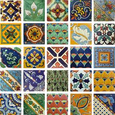 For my kitchen window sills.  mexican tiles