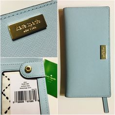 ✨Brand new! Kate Spade Stacy Wallet Blue Hydrangea Gorgeous, light blue wallet by Kate Spade. I have the same in light pink(blush) and LOOOVE it. kate spade Bags Wallets