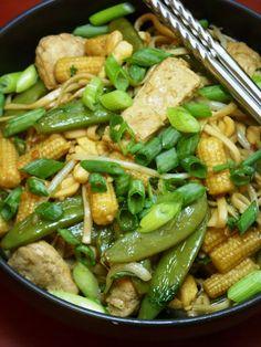 Vegan Pad Thai. Holy delicious!