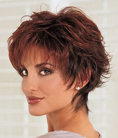 Really love this style. Feminine yet powerful. Power by Revlon Wilshire Wigs
