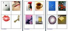 Metodo Montessori: schede delle nomenclature per parole con consonanti doppie. Schede mute, in stampato minuscolo e corsivo in formato pdf e word Diy Montessori, Language Arts, Holiday Decor, Pdf, Language