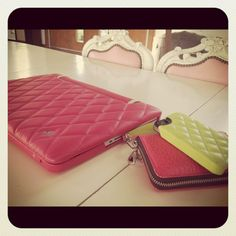 Leather Cases in Matelasse pattern coming soon - wow