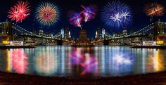 Fringe NYC New Year Fireworks by Val Tourchin on 500px