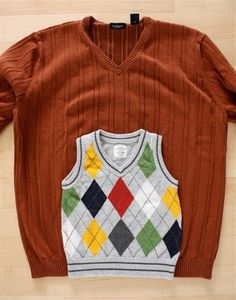 homemade vest from larger size - she makes it sooo simple! even I might be able to make this :) can't wait to try. Put this with the homemade adjustable waist pants and my little mister will finally have some clothes that look smart AND fit!