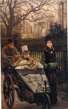 The Warrior's Daughter, or The Convalescent - James Tissot, c.1878