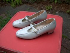 Miss Wilhemina: comfortable shoes of which she wears to work in all day
