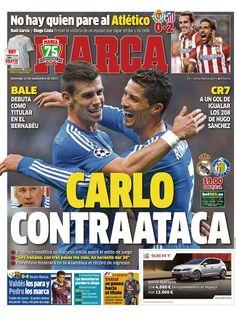 'Carlo contraataca'   La portada del 22 de septiembre de 2013