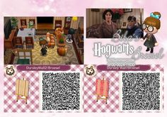 Daily Prophet - Biba Broesel Spiel - A letter from Hogwarts - Dursley - Dursleys living room - Harry Potter - Wall - Tapete - Animal Crossing New Leaf - ACNL - QR - Broesel