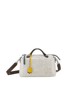 FENDI Small Double-Handle Snakeskin Satchel Bag 7a187d35603d1